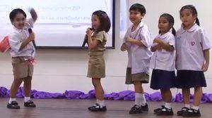 คลิปน่ารัก #ละครเด็กฮาแตก จากโรงเรียนสาธิตอนุบาลราชมงคลฯ