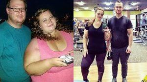 ลดน้ำหนักเพื่อมีลูก สองสามีภรรยาลดน้ำหนักรวมกัน 176 กิโลกรัมในปีเดียว