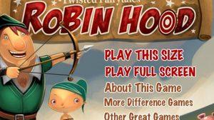 เกมส์จับผิดภาพ Robin Hood Twisted Tale