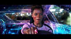 Black Panther ปล่อยของ!! ออกไล่ล่าศัตรูจนรถคว่ำ ในคลิปโชว์การใช้พลัง Kinetic Energy
