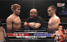 [Hilight] คู่ที่ 2 Super Fight รุ่น 70 kg. Nakajima Hiroki VS Dmitrii Grafov