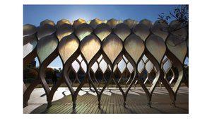 8 สถาปัตยกรรมจากไม้แปรรูป ! ชวนดู นวัตกรรม วัสดุก่อสร้าง เก๋ ล้ำ แกร่ง ทน ยืดหยุ่น