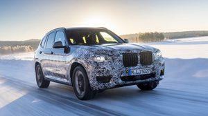 2018 BMW X3 ส่งทีเซอร์แรก ทดสอบการวิ่งในสภาพอากาศหนาว
