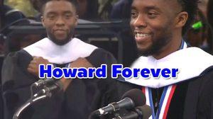แชดวิก โบสแมน พูดให้โอวาทบัณฑิตจบใหม่ ที่ Howard University
