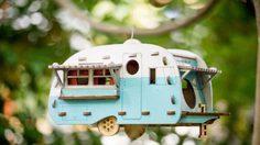คิ้วท์มากเว่อร์! รถบ้านแคมเปอร์ บ้านนก ตกแต่งสวน สไตล์วินเทจ