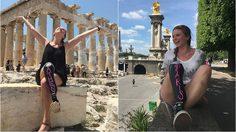 ความฝันไม่มีวันพิการ… สาวพิการ เที่ยวรอบยุโรป ถ่ายรูป เช็คอิน สุดแฮปปี้!!