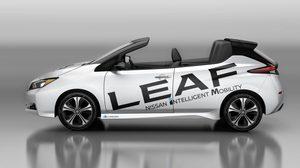 Nissan LEAF เผยโฉมรุ่นเปิดประทุน ครั้งแรกที่กรุงโตเกียว