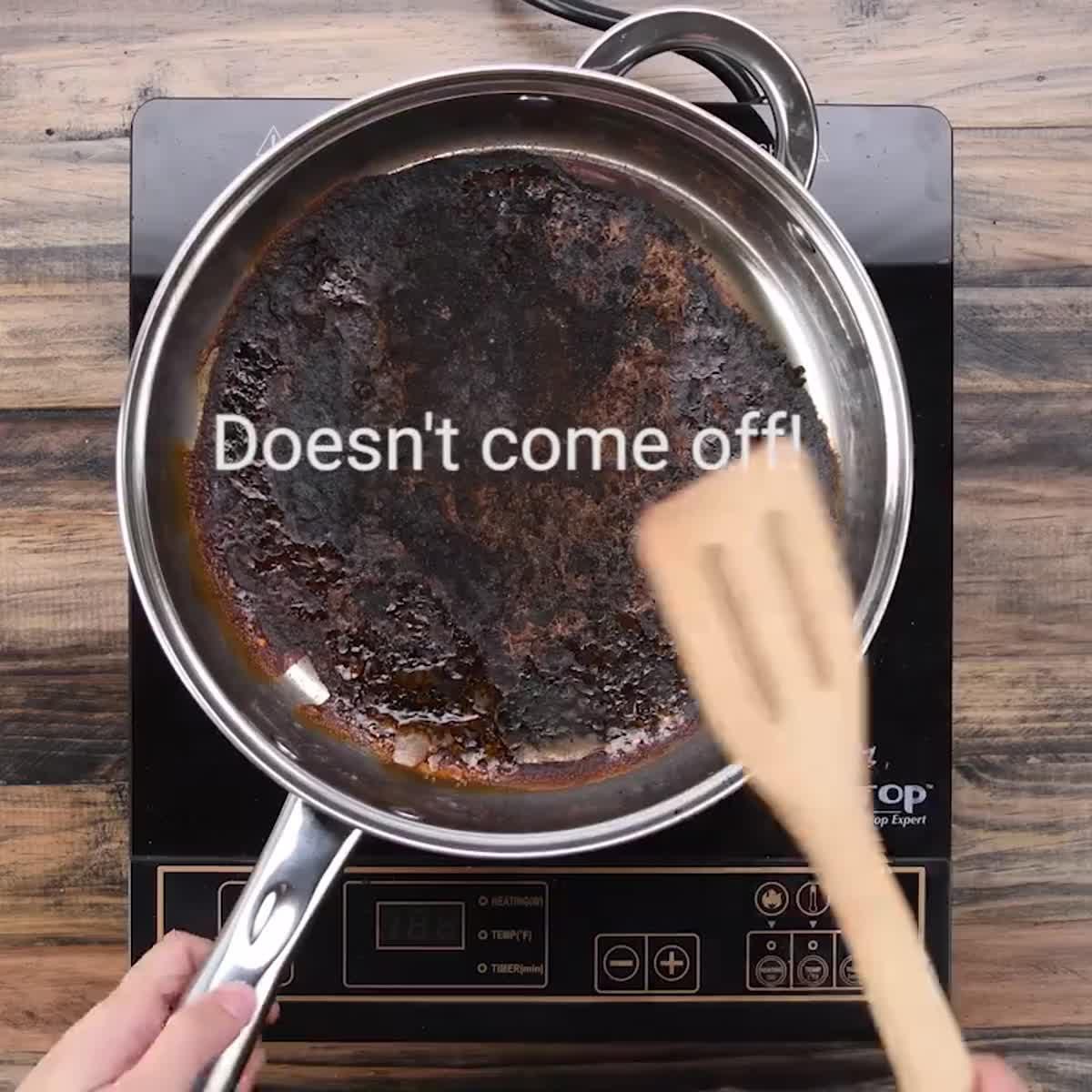 เคล็ดลับ ล้างกระทะไหม้ ไม่ต้องออกแรงขัด ง่ายจิ๊ดเดียว