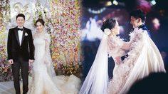 เลิศหรูอลังการ งานแต่งงาน รัก หนาม ทายาท คิง เพาเวอร์ บอกเลยธีมหวานมว้ากกก
