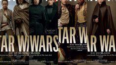 นิตยสาร Vanity Fair ปล่อยภาพหน้าปก ฉลองครบรอบ 40 ปี สตาร์วอร์ส จากภาค The Last Jedi ทั้ง 4 แบบ