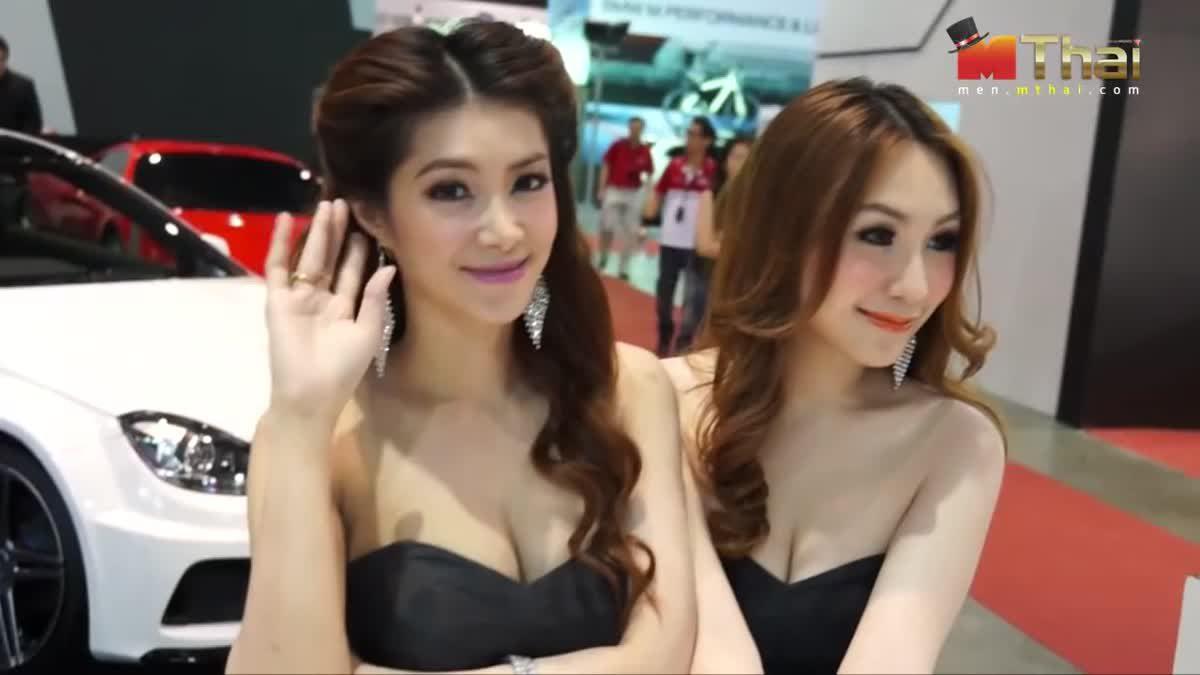Pretty Bangkok International Auto Salon 2013