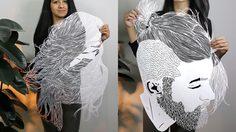ยกนิ้วให้ความพยายาม! ฝีมือตัดกระดาษ Papercuts ละเอียดทุกเส้นผม