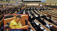 รองประธาน 'พีระศักดิ์' ขอโทษหลังมีภาพ สนช. นั่งหลับในห้องประชุม