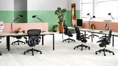 พื้นที่ทำงานแบบ living office