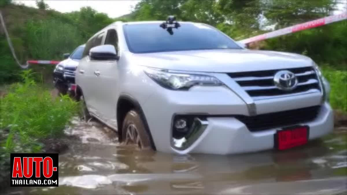 ทดลองขับ Toyota Fortuner รุ่นปรับปรุงใหม่ 2.8V ∑4 และ 2.4V ∑4 ลุยเขาใหญ่ทั้ง On road และ Off road