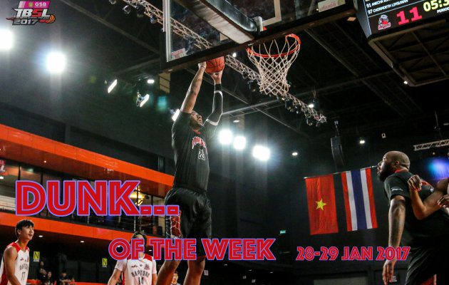 Top Dunk...Of the week (28-29 Jan 2017)