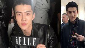 Vogue ยก เซฮุน EXO ดูดีที่สุดในแฟชั่นโชว์แบรนด์หรู Louis Vuitton