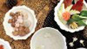 ข้าวแช่มิสสยาม ณ ห้องอาหารมิสสยาม @ โรงแรมหัวช้าง เฮอริเทจ กรุงเทพฯ