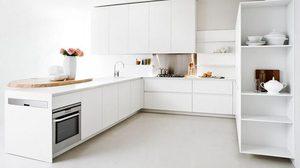 ไอเดียตัวอย่าง แต่งห้องครัวสีขาว ให้สวย สะอาดตา