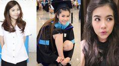 ย้อนวัยเรียนสาวสวยหุ่นดี จีน่า อันนา ในชุดนักศึกษา