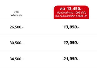 iPhone 7 ลด 50% ลูกค้าทรูแบล็คการ์ด เริ่มต้น 13,050 บาท!!
