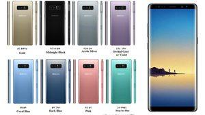 มาทุกสี!! Samsung Galaxy Note 8 อาจมีมาให้เลือกมากถึง 8 สี
