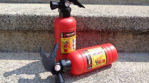 """สวมวิญญาณนักดับเพลิงด้วย """"ปืนฉีดน้ำถังดับเพลิง"""""""