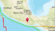 สะเทือนถึงเมืองหลวง ! แผ่นดินไหวเม็กซิโกรุนแรง 7.2 แมกนิจูด