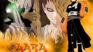 คาเสะคาเงะ-กาอาระ  แห่งหมู่บ้านซึนะงาคุเระ จาก Naruto