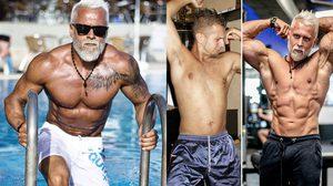นักเพาะกายจากโปแลนด์ วัย 35 ปี เปลี่ยนลุคตัวเองให้เป็นคุณปู่สุดเฟิร์ม