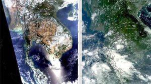 กรมป่าไม้แจง! เหตุแผนที่ดาวเทียมไทยกลายเป็นสีน้ำตาล