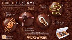 คริสปี้ ครีม พร้อมเสิร์ฟ 4 รสชาติช็อคโกแลตชุ่มฉ่ำกับ