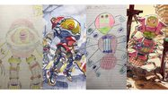 ภาคสอง!! Thomas Romain คุณพ่อนักวาดเปลี่ยนลายเส้นลูกชายให้เป็นอนิเมะสุดเจ๋ง