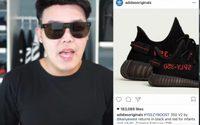 แบบนี้ก็มี!! ไฮโซหนุ่มซื้อ adidas Yeezy Boost 350 V2 ก่อนวันวางขายจริงถึง 5 วัน