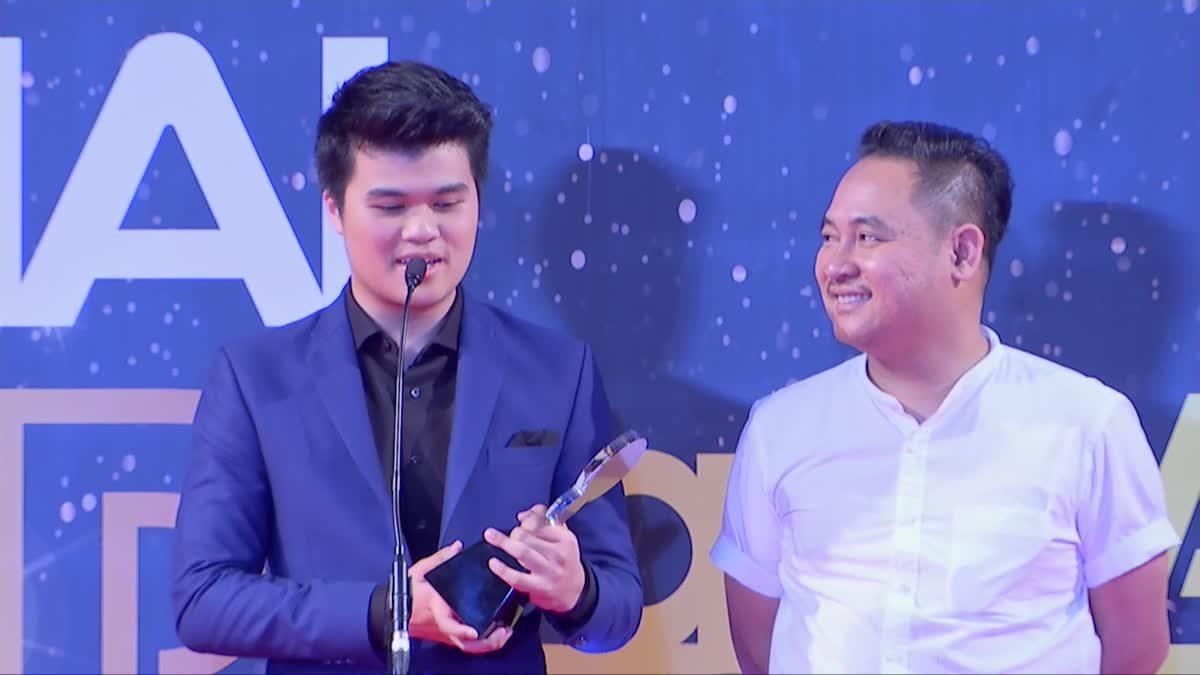 คุณ ธงชัย ประสงค์สันติ (รับแทน) รางวัล Top Talk About Drama 2017