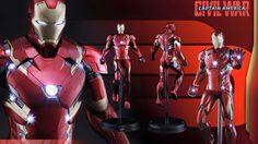 สิ้นสุดการรอคอย! Hot toys เปิดตัวสินค้าใหม่  Iron man Mark XLVI (มาร์ค46) สวยเวอร์