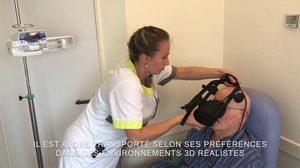โรงพยาบาลฝรั่งเศสให้ผู้ป่วยใช้แว่น VR บรรเทาอาการเจ็บแทนใช้ยา