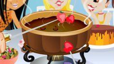 เกมส์ทำขนมช็อคโกแลตฟองดูว์ Fondue Fun Game