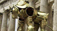 เท่ไม่หยอก!! กับชุดเกราะ Gold Cloth ของเซนต์เซย์ย่า!?