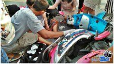 ชาวบ้านแห่ชื่นชม กลุ่มครูน้ำใจงาม ช่วยผู้บาดเจ็บร่วมกับกู้ภัยกลางถนน