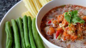สูตร น้ำพริกไข่ปู กินคู่กับผักและข้าวสวยร้อนๆ