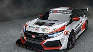 เปิดตัว New Honda Civic ในเวอร์ชั่นตัวแข่ง TCR racer ปี 2018