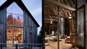 รีโนเวท โรงนาเก่า ให้ กลายเป็น บ้านสองชั้น แถมคว้า รางวัลออกแบบยอดเยี่ยม