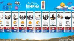 เทศกาลดนตรีริมผา RIMPHA MUSIC FESTIVAL ครั้งที่ 3