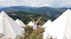 The Best Camp Mountain เชียงใหม่ นอนเต็นท์ ดูดาว กอดหมอก หน้าฝน