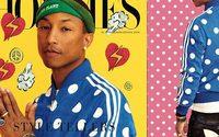 adidas Originals x Pharrell Williams แฟชั่นลายจุด