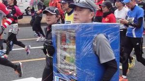 ตะลึง หุ่นอินแกรมโผล่กลางงานวิ่งโตเกียวมาราธอน 2015