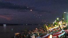 เทศกาลบั้งไฟพญานาค หนองคาย ประจำปี 2557