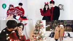 อยากมีโมเม้นท์นี้! ไอเดียถ่ายรูปคู่รักในวันคริสต์มาส หวานจนเพื่อนหมั่นไส้!