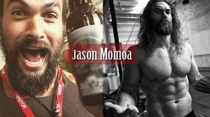 ภาพเท่ๆ ของ Jason Momoa พระเอกหน้าเก๋ซิกแพคแน่น จากเรื่อง Aquaman